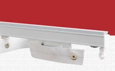 Sistema de cortinero ondulado Ripplefold